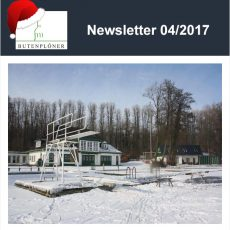 Letzter Newsletter für 2017