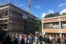 Richtfest des neuen Fachgebäudes des GSP