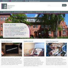 Kooperation: Butenplöner helfen GSP beim Relaunch der Internetseite