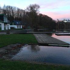 Neu in der Bildergalerie: Hochwasser am Bootshaus