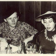 Neu in der Bildergalerie: Faschingsfeier im Internat 1955