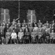 Neu in der Bildergalerie: Lehrerkollegium 1966