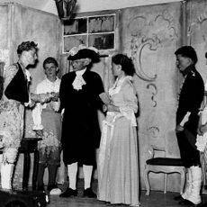 """Neu in der Bildergalerie: Theater """"Minna von Barnhelm"""" 1954"""