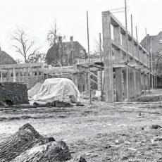 Neu in der Bildergalerie: Baustelle im Schulhof 1960