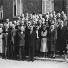 Neu in der Bildergalerie: Lehrerkollegium 1960