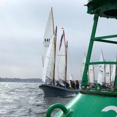 Dritter Platz für Team der Butenplöner bei Marinekutterregatta der Kieler Woche 2020
