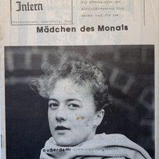 Neu in der Bildergalerie: Internat Intern Nr. 16 von 1984