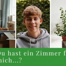 1-Raum-Wohnung oder WG-Zimmer in München gesucht!